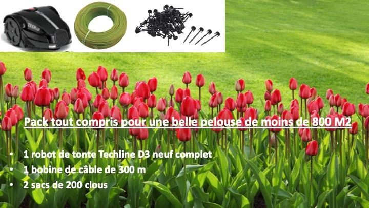 pack robot tondeuse pas cher pour belle pelouse. Black Bedroom Furniture Sets. Home Design Ideas